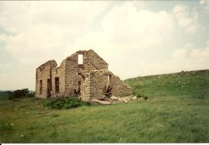 Near El Dorado, Kansas, you'll find this old stone house.
