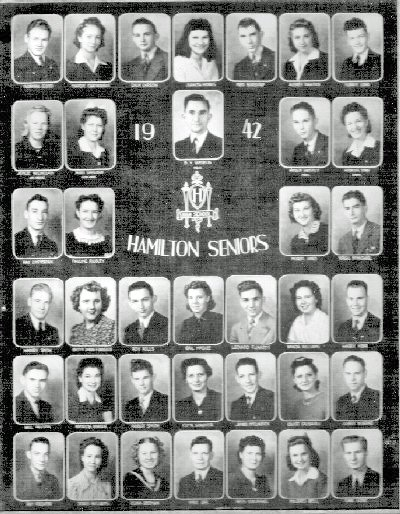 1942 Hamilton KS high school graduates