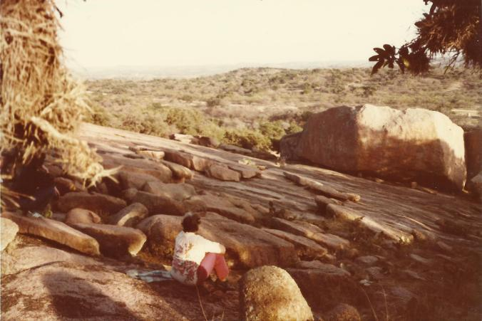 Gail Martin at Enchanted Rock