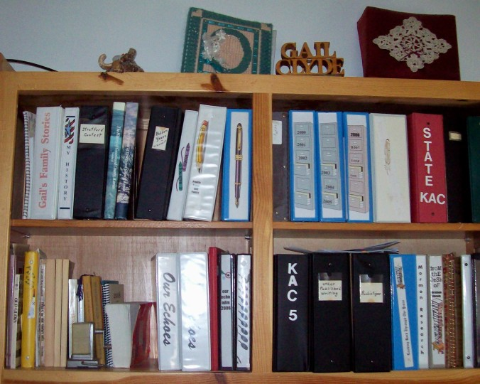 my writing notebooks