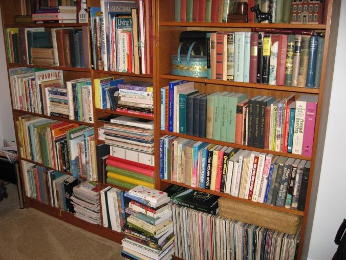 Martin bookshelves