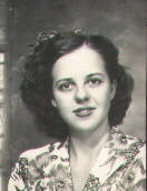 Gail McGhee in Wichita, Kansas in 1944