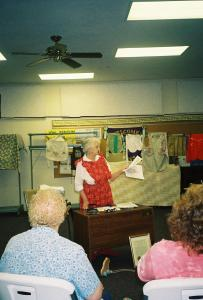 It was a big hit at senior centers, homemaker's clubs and nursing homes.