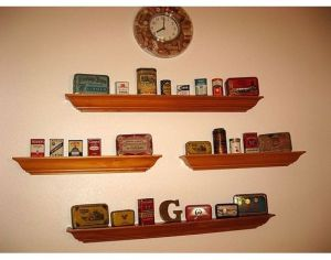 My collection of vintage ginger spice tins. My nickname is Ginger and that inspired this.