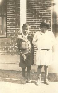 Bertha McGhee's photo from her time teaching in Farmington, New Mexico.