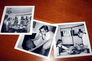 Make use of vintage photos to refresh your memory when writing.