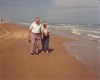 gail clyde padre island beach
