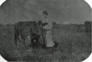 Ruth and the cow_edited