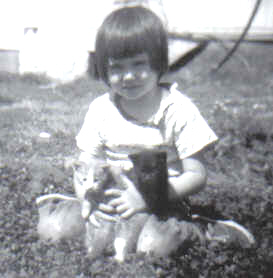 Shannon_and_Kittens_June_1963 - Copy