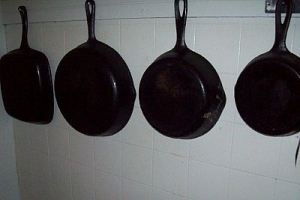Gail Martin's frying pans