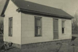 Rental house - owned by Clarence McGhee in 1951