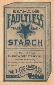 vintage box starch