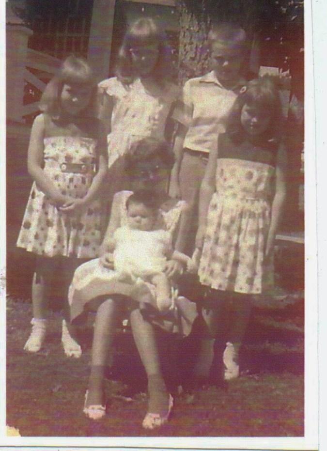 Martin kids 1959 Easter