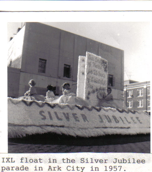 IXL parade float
