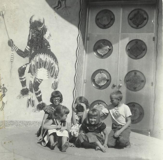 Owen_susan_Virginia_Karan_Cindy_1954_Woolaroc_Museum__Okla