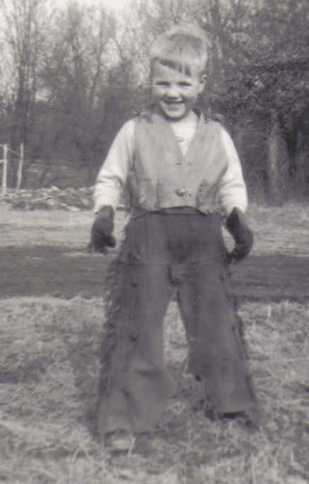 1950s little cowboy