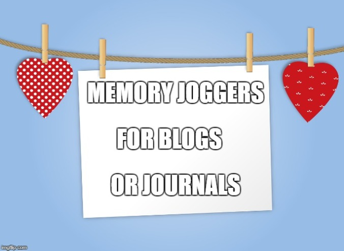 memory joggers blogs
