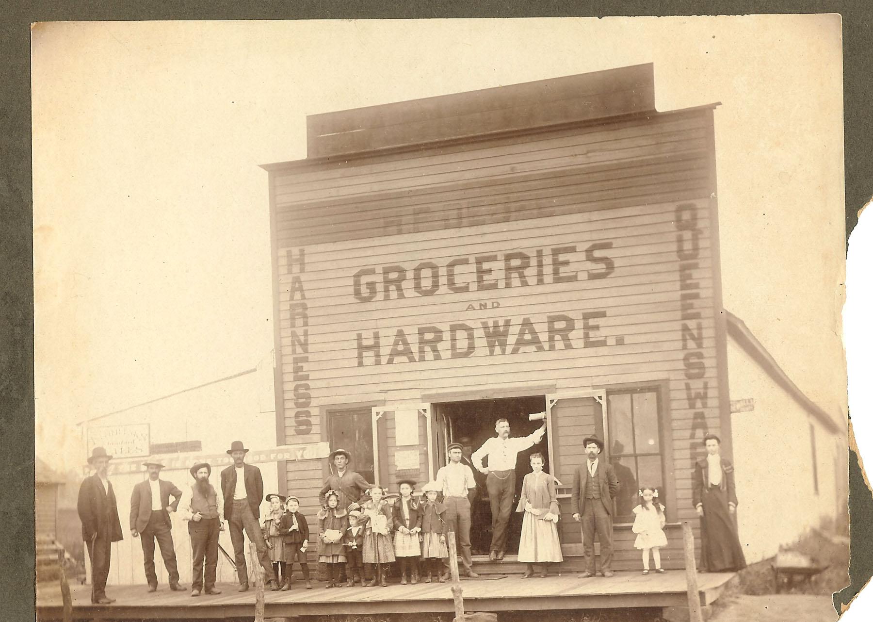 1st store in Tyro run by jack irwins great grandfather Joseph Lenhart