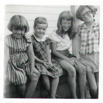 Four_Martin_Girls 1960s Kansas