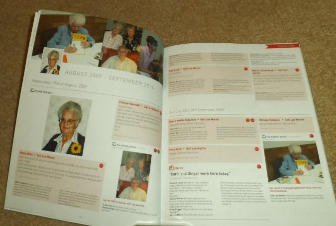 gail martin 2009 facebook book - my social book