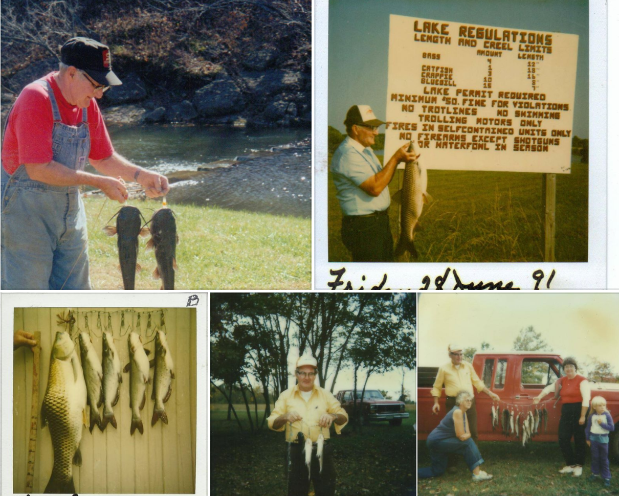 Clyde Martin loved fishing
