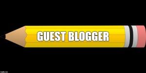 guest blogger pencil