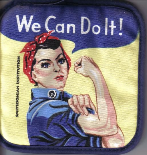Gail and Rosie the Riveter