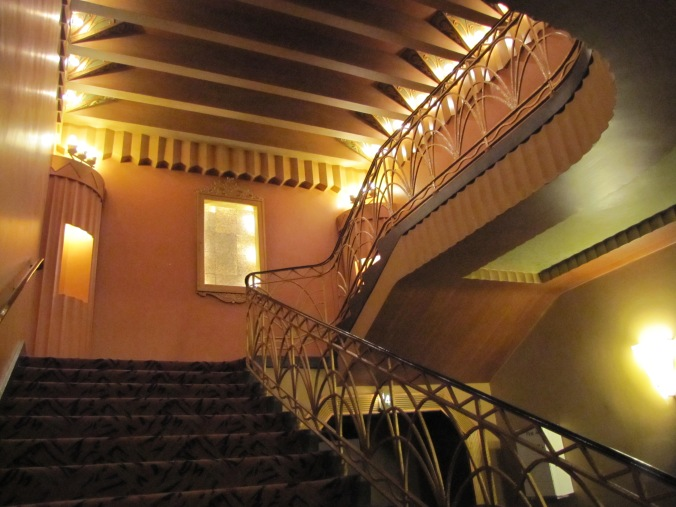 fox theater stairway