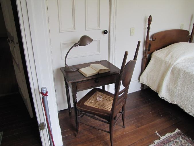 Mary White's bedroom