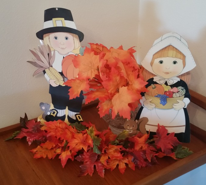 Thanksgiving display