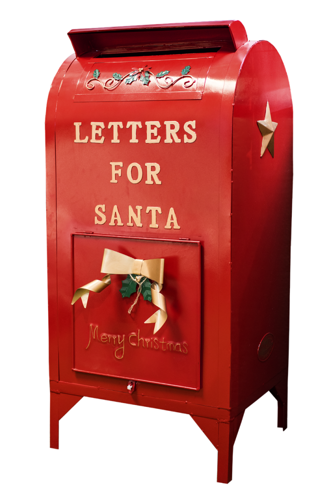 Write a Christmas letter to Santa - librarians