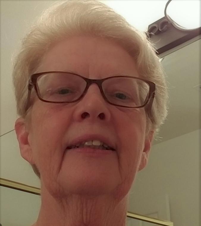 Ginger Allain - selfie