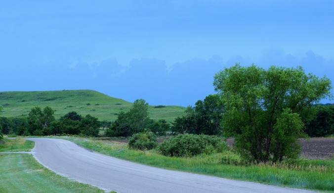 kansas flint hills road