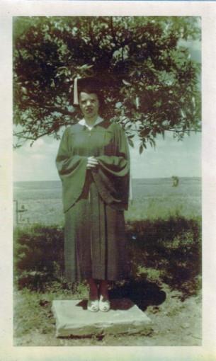Carol McGhee - graduation