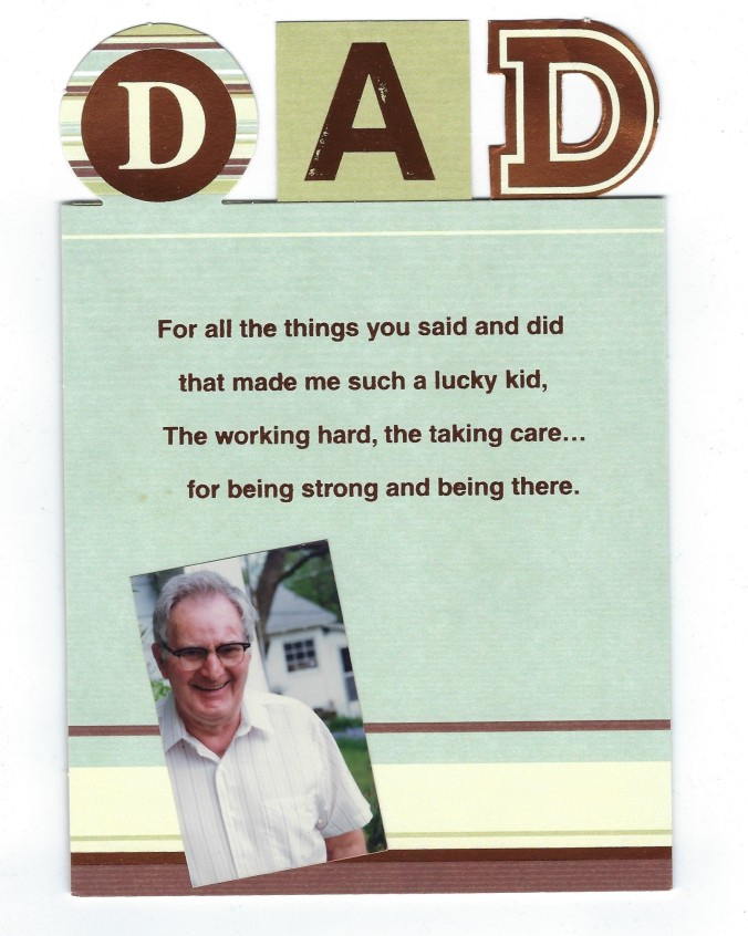 clyde and father's day card