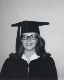 Virginia Martin - college graduation
