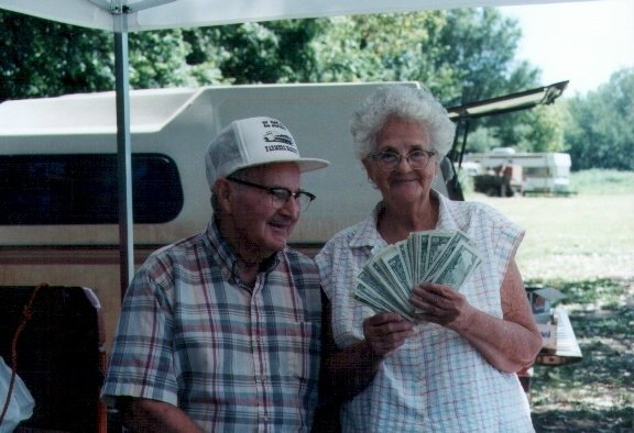 Clyde and Gail Martin Farmers Market money
