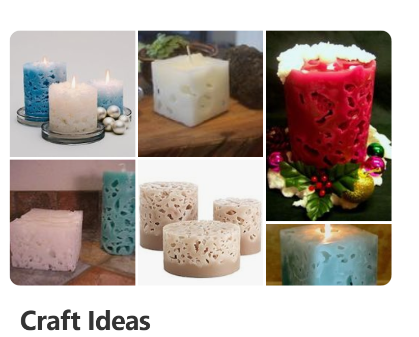Make Ice Candles