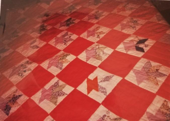 drunken basket quilt