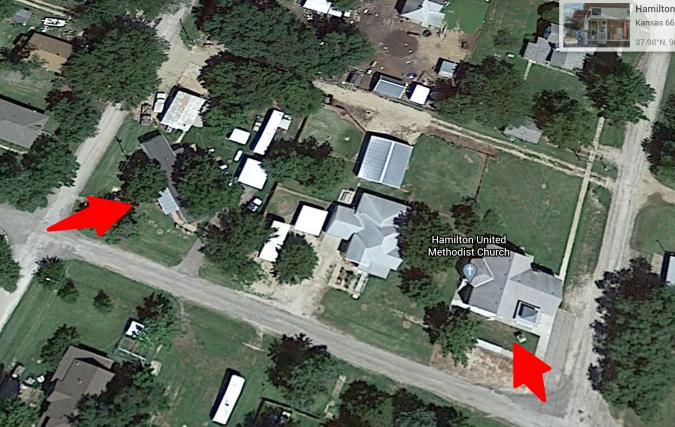Google Earth Hamilton ks, Joy home