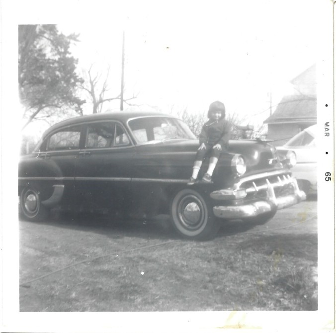 little shannon on car - march 1965