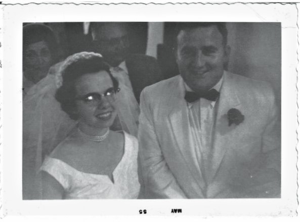 cj and floyd garriott wedding 1955