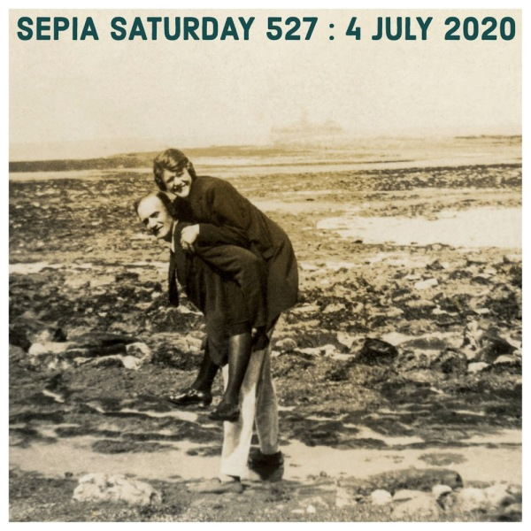 Sepia Saturday 527 - 4 July 2020